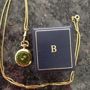 Accessories - Classic Gold Bucherer Pocket Watch